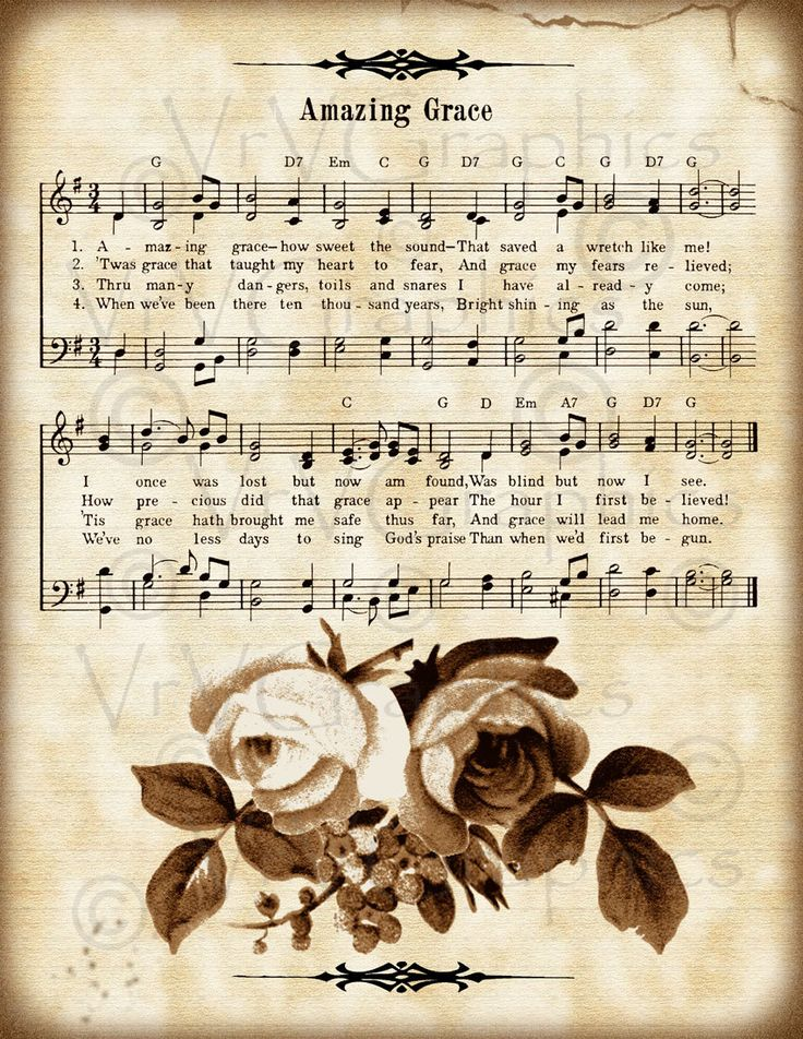 vintage sheet music clipart - Clipground