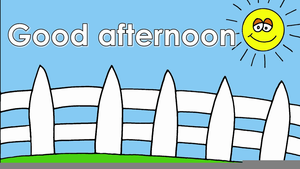 Animated Good Afternoon Clipart.