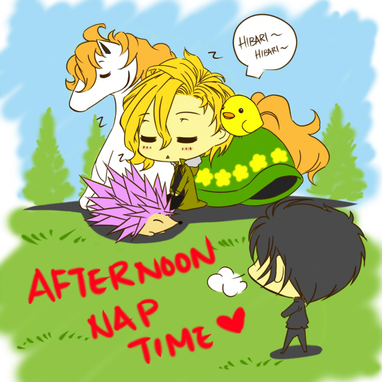 Afternoon Nap Time by joker4msy on DeviantArt.
