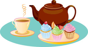 Afternoon tea clipart free.