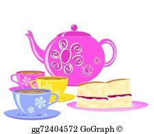 Afternoon Tea Clip Art.