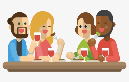 Free Dinner Clip Art with No Background.
