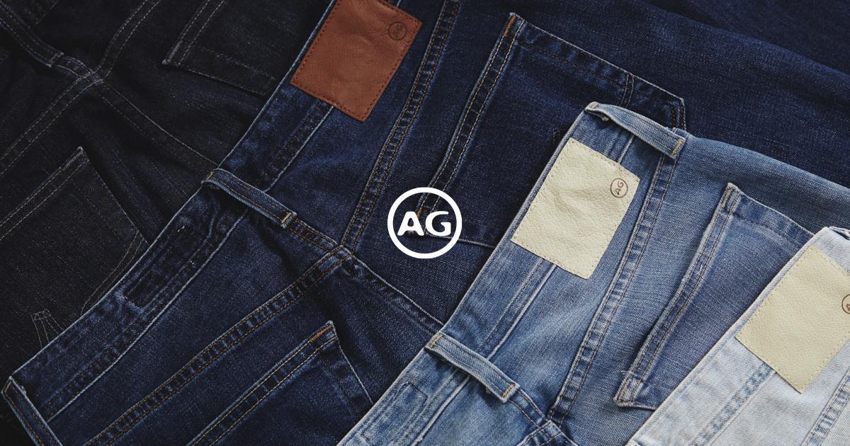 AG Adriano Goldschmied Premium Denim Jeans.