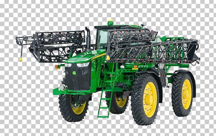 Tractor John Deere Sprayer Irrigation Sprinkler Combine.