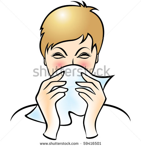 Cough And Cold Clipart.
