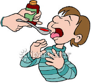 Clip Art Cough Syrup.