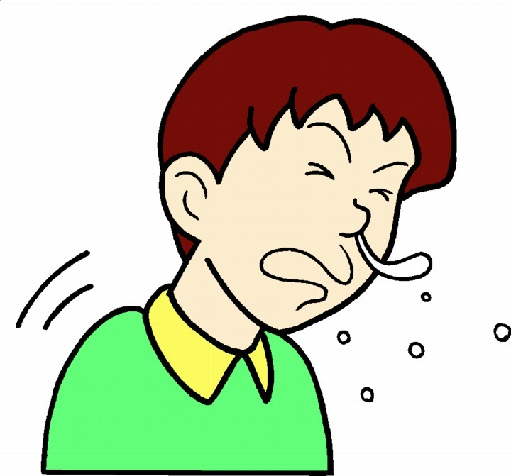 Coughing Clipart.