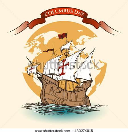Columbus Day Stock Photos, Royalty.