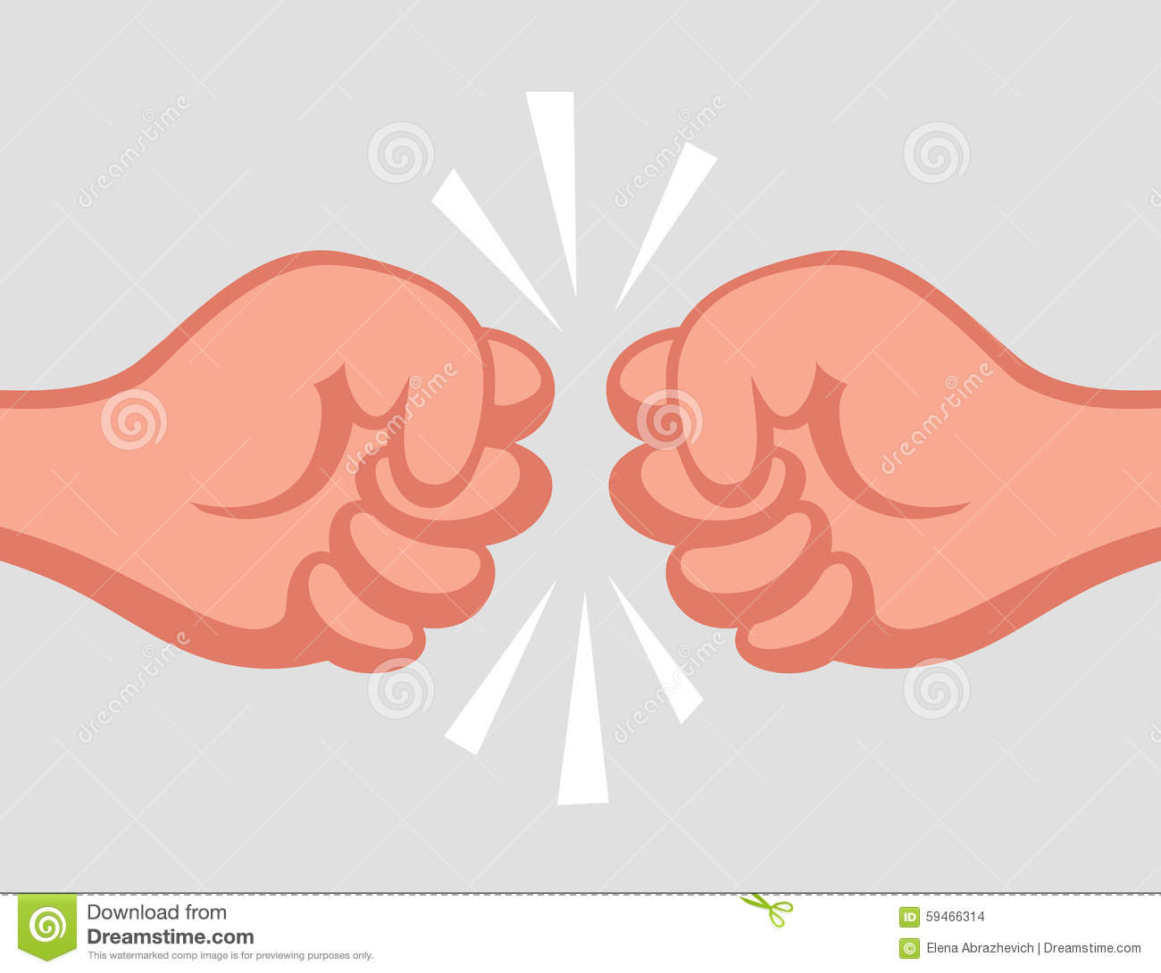 Two Fists Against Each Other Stock Photos, Images, & Pictures.