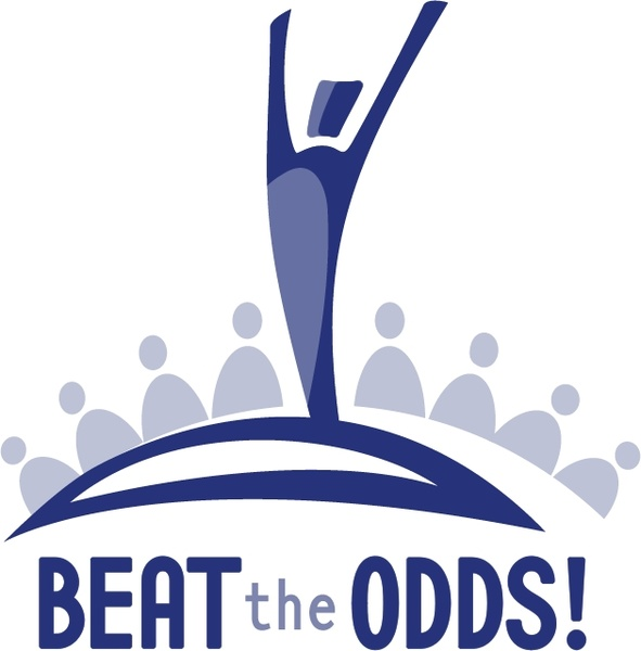 Beat the odds Free vector in Encapsulated PostScript eps.