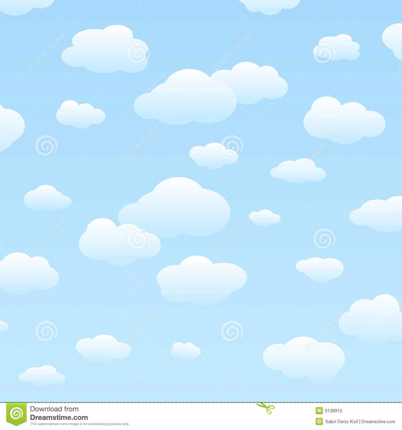 Cloudy Sky Clipart.