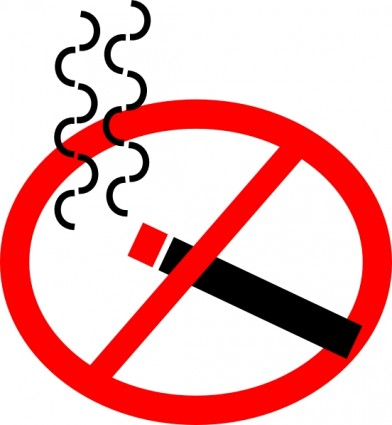 Anti smoking clipart.