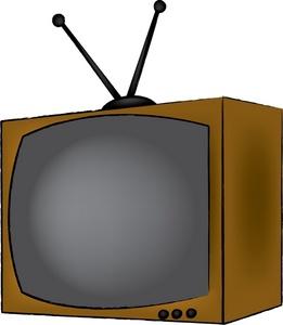 Old tv clip art.
