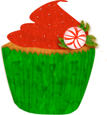 Image of Birthday Cupcake Clipart #4724, Against The Current.