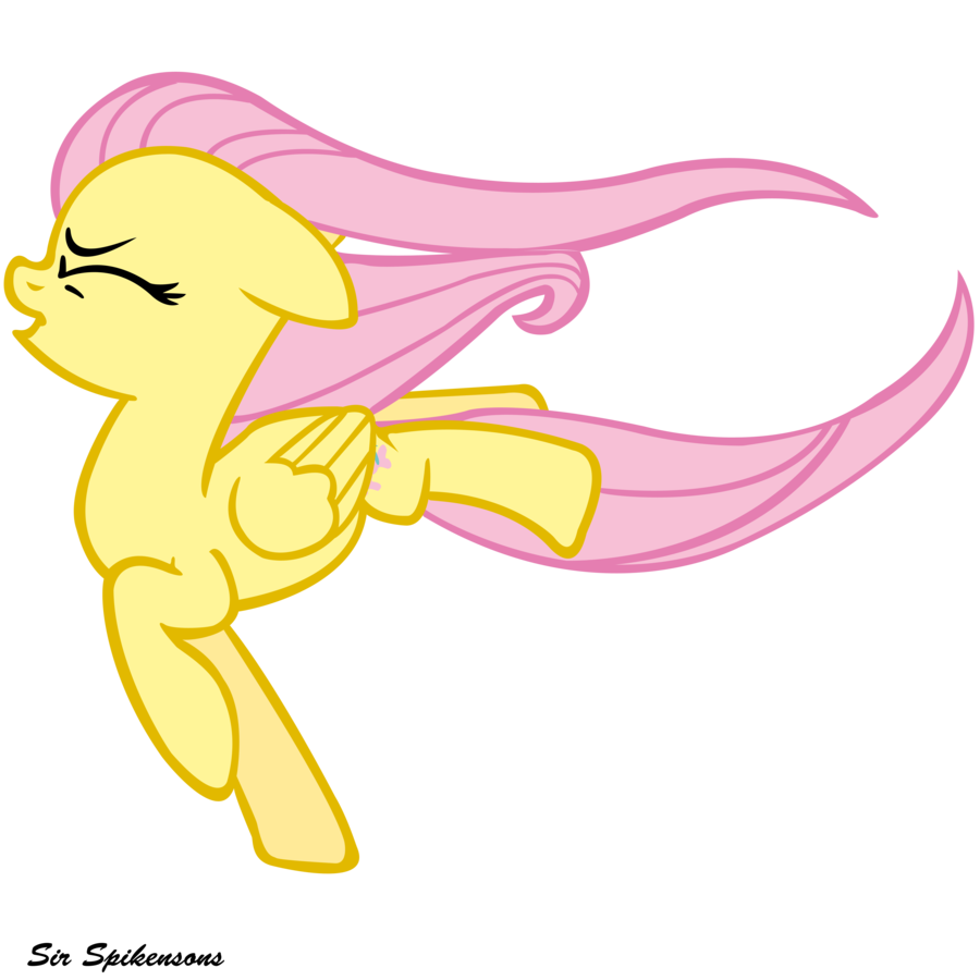 Against the wind fluttershy by SirSpikensons on DeviantArt.
