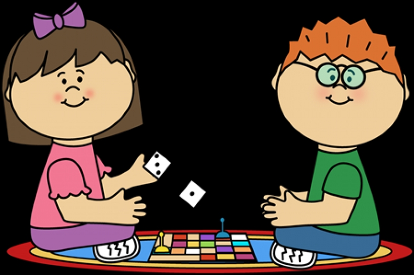 kids board gameclip art kids board game image play a game clipart.