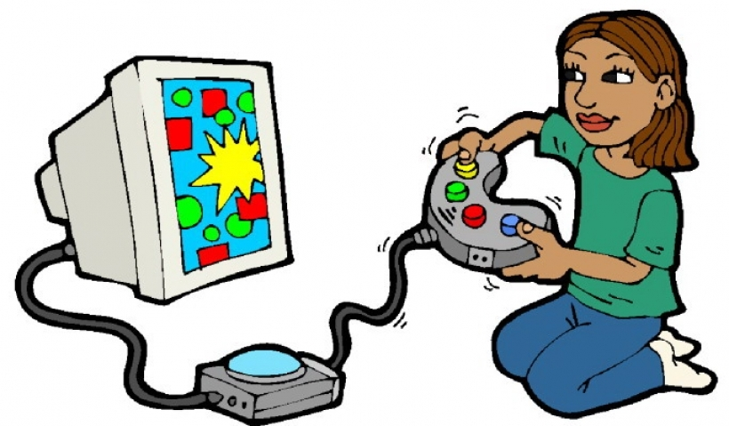 playing children clip art play a game clipart.