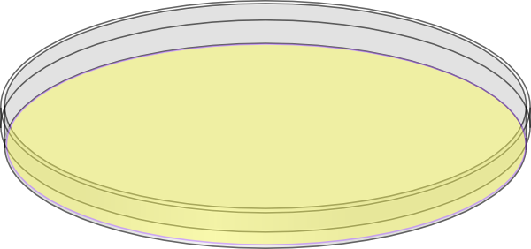 Agar Plate Clip Art.