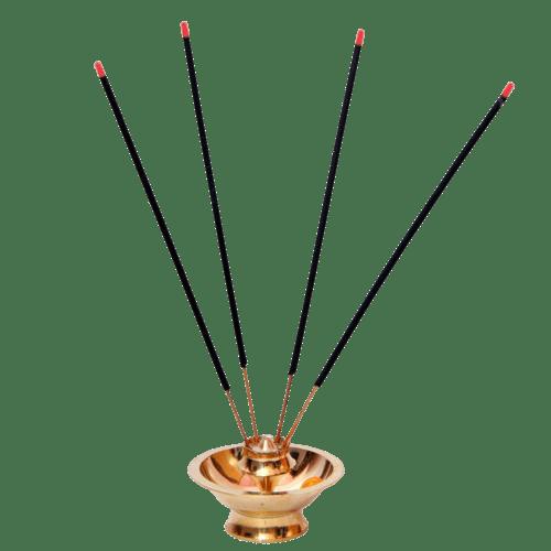 Black Incense Sticks transparent PNG.