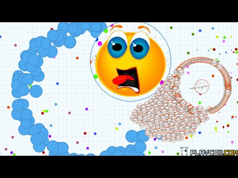 Agario Mass Food Spawn and Splitting In Private Server.