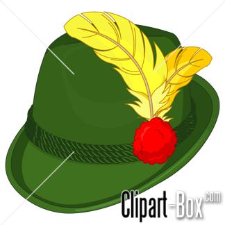 CLIPART BAVARIAN HAT.