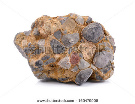 Conglomerate Stone Stock Photos, Royalty.