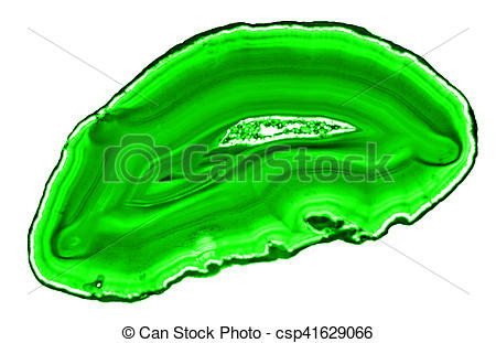 Stock Image of Close up of agate slice csp41629066.
