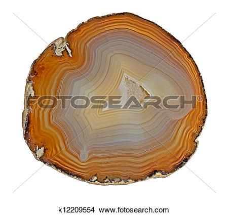 Stock Photo of Agate slice k12209554.