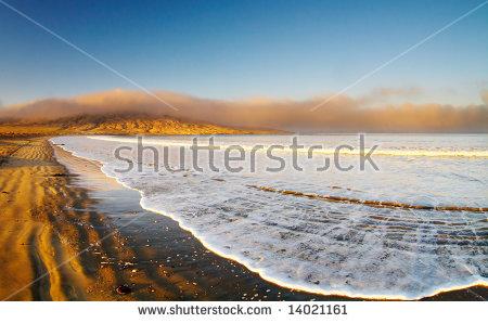 Atlantic Coast, Luderitz, Namibia, Agate Beach Stock Photo.