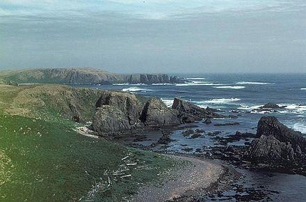Karaginsky Island.