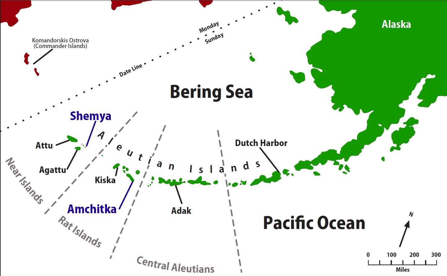 Attu Island (Aleutians), Alaska Gallery.