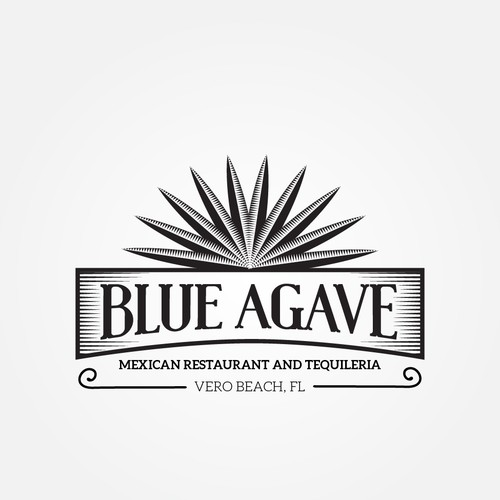Blue Agave, logo needed for authentic taco tequila bar and.