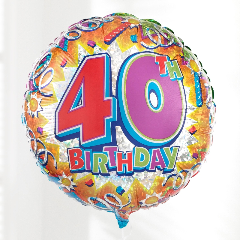 40th Birthday Images.