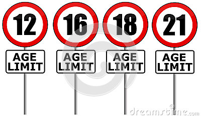 Age Restriction Stock Photos, Images, & Pictures.
