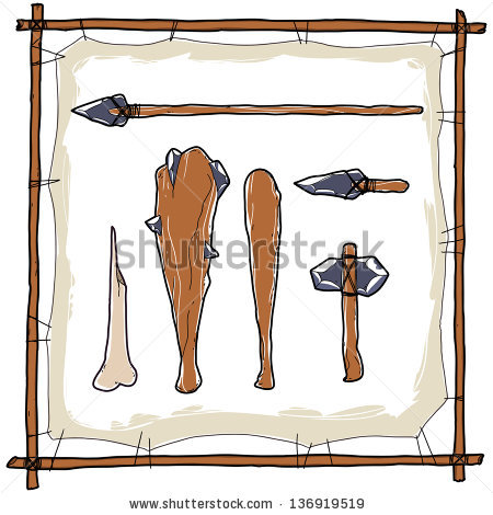 Stone Age Stock Photos, Royalty.