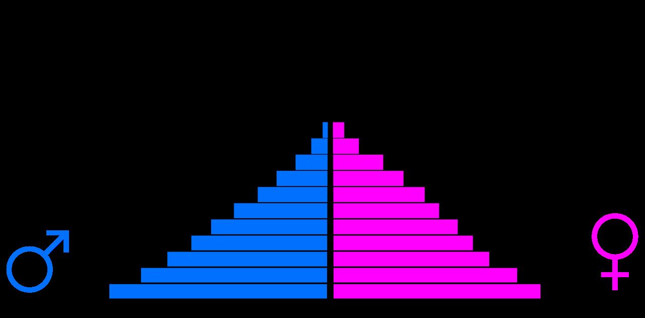 Network clipart population structure, Network population.