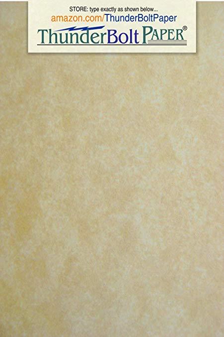 Amazon.com: 50 Old Age Parchment 65lb Cover Paper Sheets 3 X.