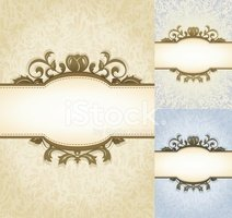 Aged Parchment Royal Background stock vectors.