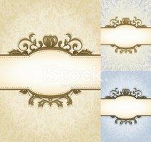 Aged Parchment Royal Background stock vectors.