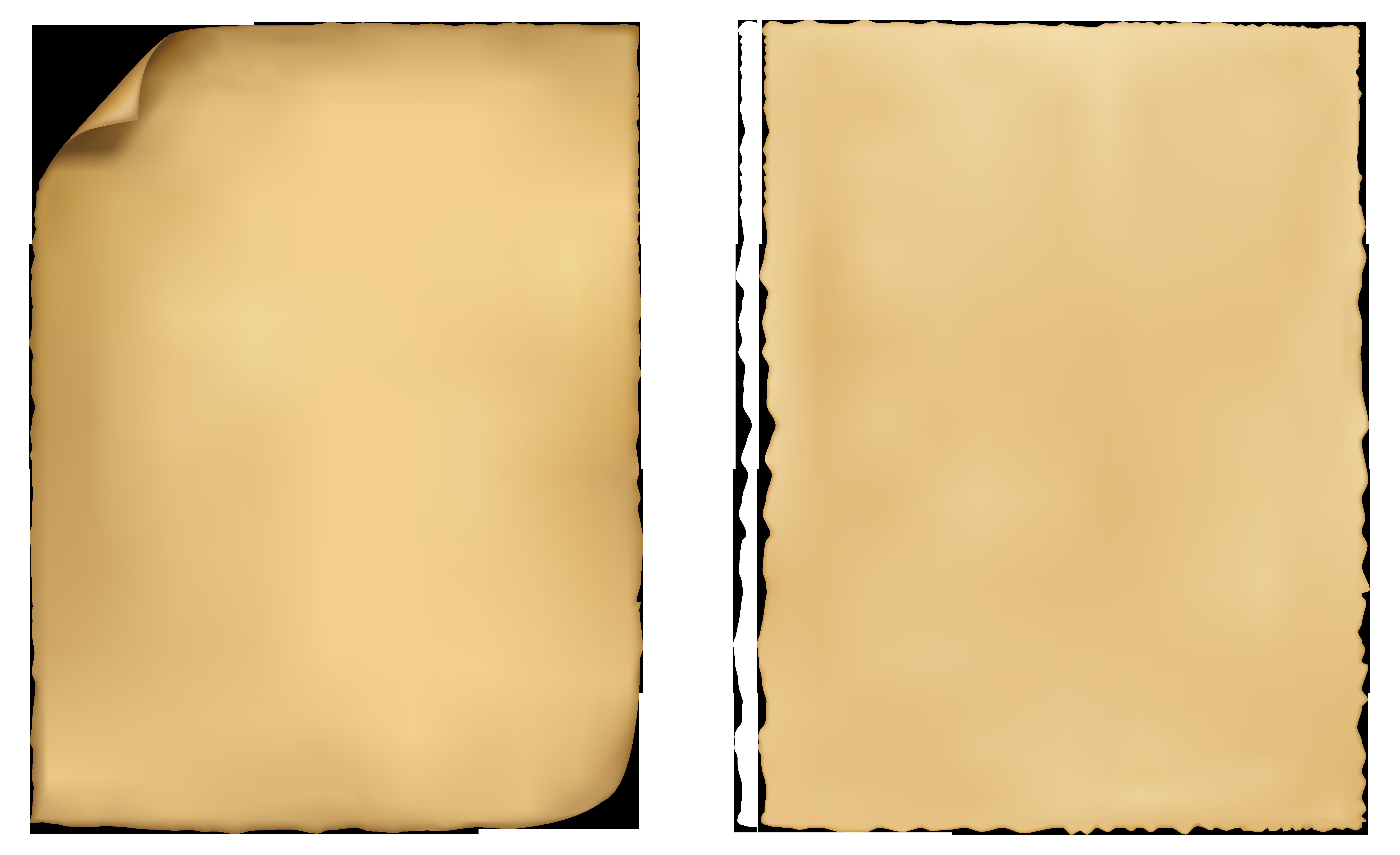 Kraft paper Parchment.