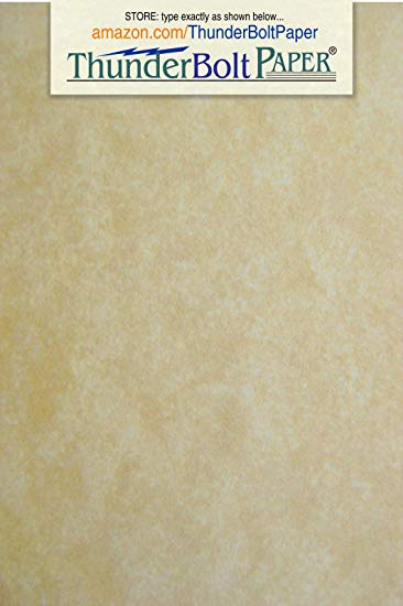 200 Old Age Parchment 65lb Cover Paper Sheets 4 X 6 Inches Cardstock Weight  Colored Sheets 4\