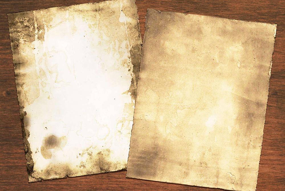 Ancient Parchment Technique.