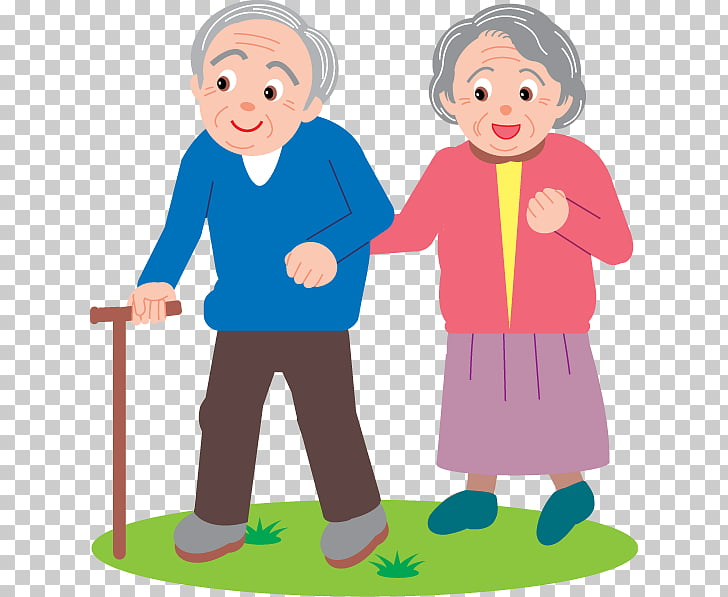 Old age Ageing Aged Care , old people PNG clipart.