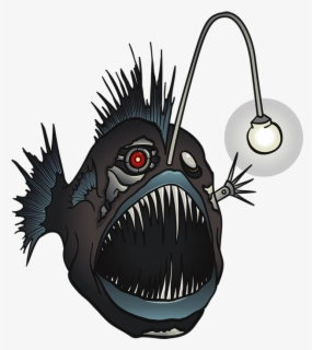 Free Angler Fish Clip Art with No Background.