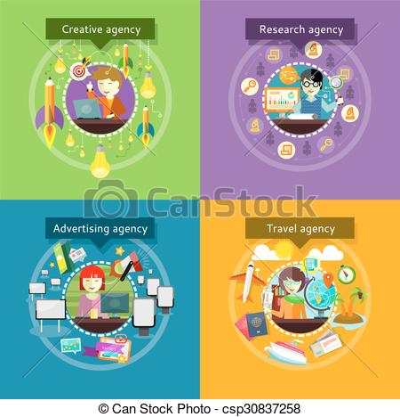 Advertising agency Vector Clip Art Illustrations. 2,649.