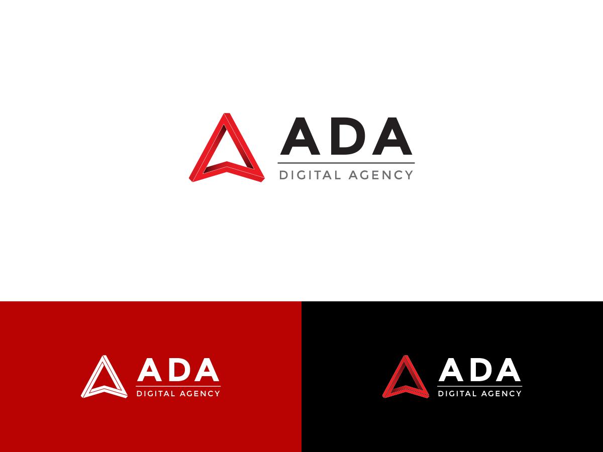 I need a logo for my new company: Ada Digital Agency.