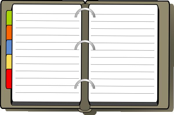 Agenda Clipart.