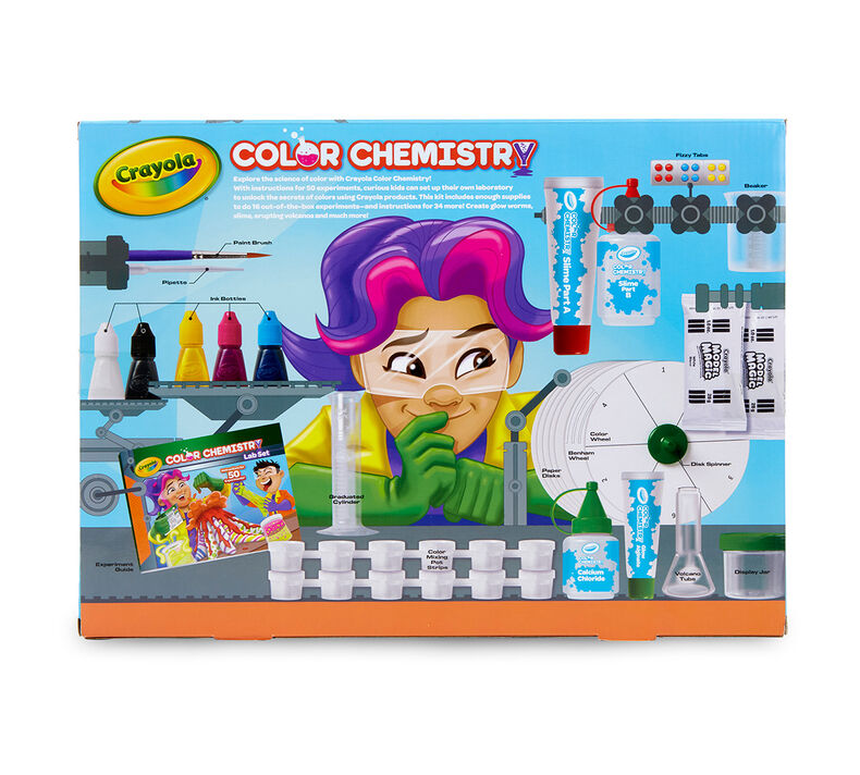 Color Chemistry Set for Kids, STEAM/STEM Toy.