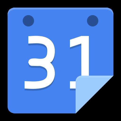 Google agenda Icon.