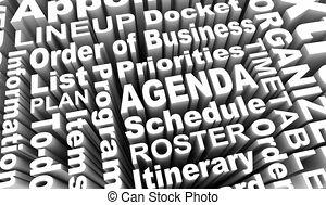 Agenda items Stock Illustrations. 957 Agenda items clip art.